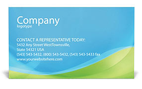 Operator Business Card Template