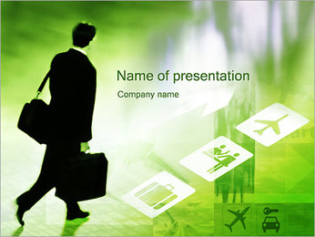 Business Trips PowerPoint Template