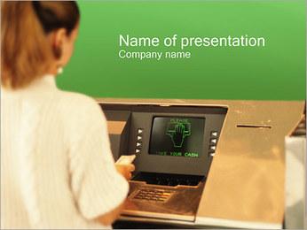 Bankomat PowerPoint šablony