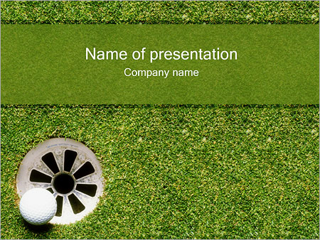 Golf PowerPoint Template & Infographics Slides
