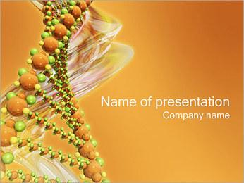Biochemie Sjablonen PowerPoint presentatie