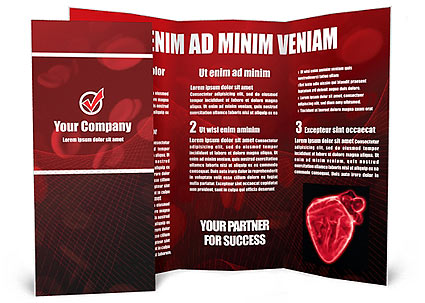 Blood Cells Brochure Template