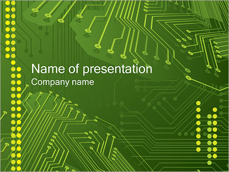 Integrated Circuit PowerPoint Template