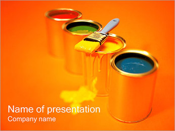 Paint PowerPoint Template