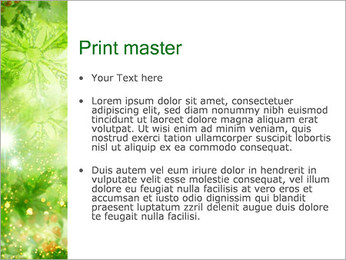 Leaves PowerPoint Template