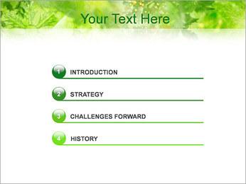 Leaves PowerPoint Template - Slide 3