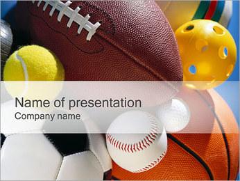 スポーツ PowerPointプレゼンテーションのテンプレート