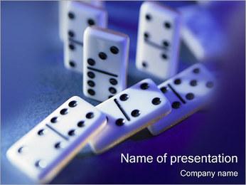 Domino PowerPoint sunum şablonları