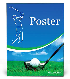 Golf Poster Template
