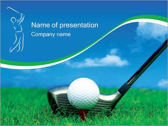 Golf Powerpoint Template Smiletemplates Com