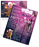 Party Newsletter Template