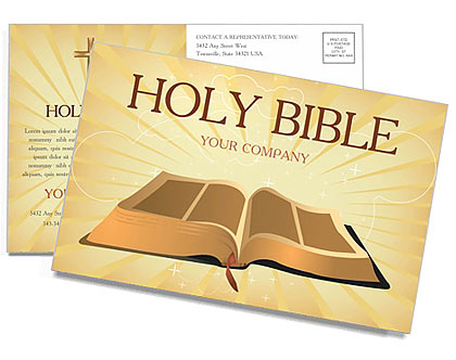 Sainte Bible Cartes postale
