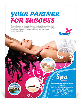 Massage Flyer Template