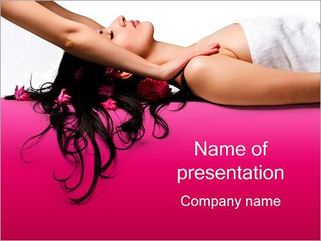 Massaggio I pattern delle presentazioni del PowerPoint