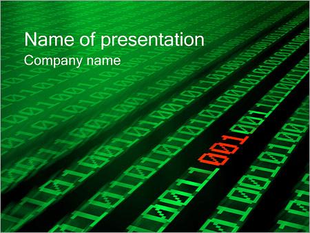 Цифры Шаблоны презентаций PowerPoint