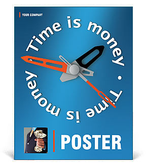 Time is Money Poster Template