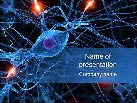 Actif Neurone Modèles des présentations  PowerPoint