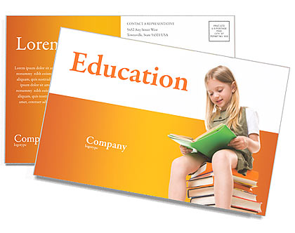 Learning Postcard Template