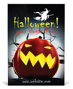 Halloween Advertenties sjablonen
