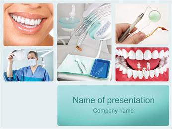 Diş Yardım PowerPoint sunum şablonları