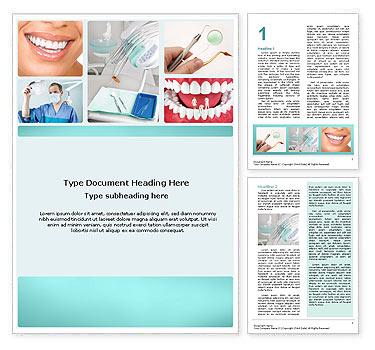 Dental Hilfe Word-Vorlagen