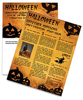 Jack-o-lantern Newsletter