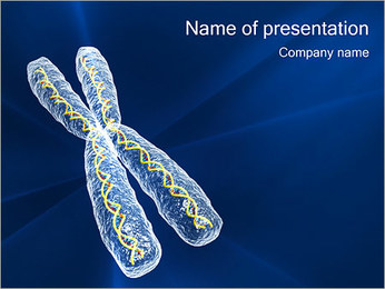 Chromosome PowerPoint Template