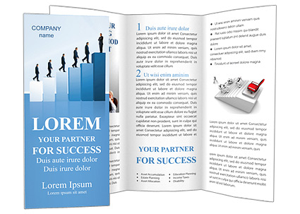 Successful Career Brochure Template