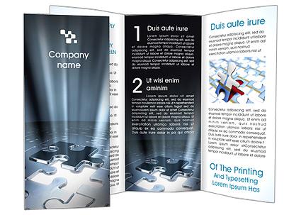 Last Jigsaw Puzzle Piece Brochure Template