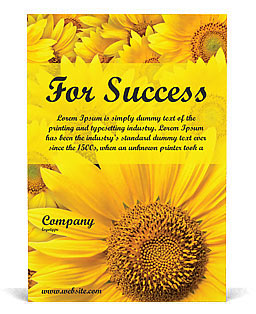 Sunflowers Ad Template