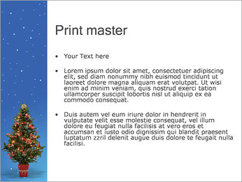 Christmas Holiday PowerPoint Template