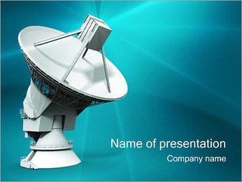 Radio - PowerPoint Template - SmileTemplates com