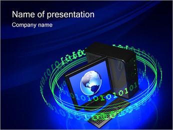 Digital Information PowerPoint Template