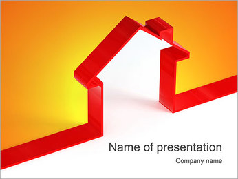 Shape House PowerPoint Template