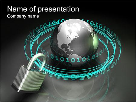 Seguridad en Internet Plantillas de Presentaciones PowerPoint