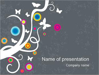 Spring & Creative Modèles des présentations  PowerPoint