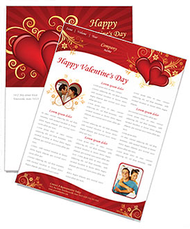 Valentines Day Newsletter Template