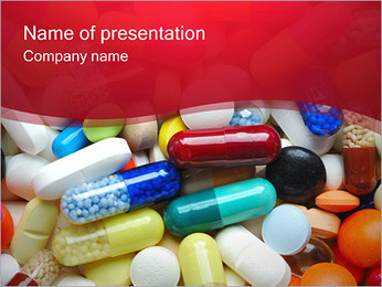 Pills Tablets Point Template