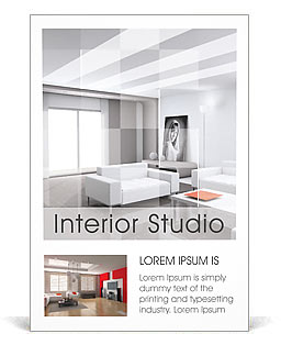 Interieur Advertenties sjablonen