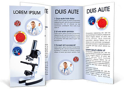 Medical Concepts Brochure Template