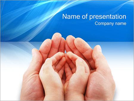 Dbanie o Dziecko Szablony prezentacji PowerPoint