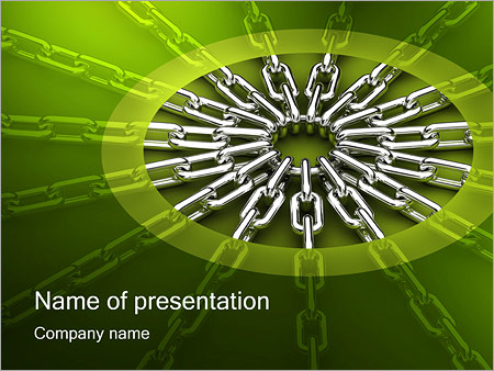 Chain Link PowerPoint Template