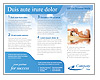 Relaxation Brochure Template