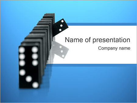Outstanding Domino PowerPoint Template