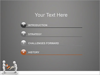 Print on Documents PowerPoint Template - Slide 3