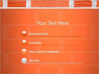 Brick Wall PowerPoint Template - Slide 3