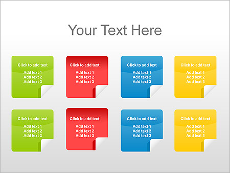 Stickers PPT Diagrams & Chart - Slide 3