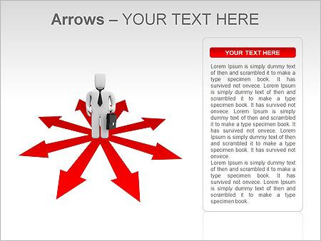Homme d'affaires Avant de choix Des schémas et des diagrammes pour PowerPoint - Diapositives 6