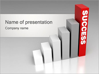 Growth to Success PowerPoint Template