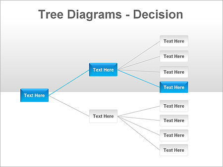 Tree Decision PPT Diagrams & Chart - Slide 3